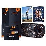 Blackroll Orange - die Original Faszien-Rolle inkl. Booklet, eBooks und App, EPP Massage-Rolle zum Faszien-Training
