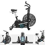 We R Sports AirUno Air Assault Exercise Bike Cardio Machine Fitness Cycle HeavyDuty MMA Bike