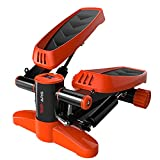 TOP-ARS® Mini Stepper für Zuhause, Swing Stepper für Anfänger & Fortgeschrittene Up Down Stepper Hometrainer mit Multifunktions LCD Display