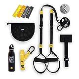 TRX GO-Bündel: Inklusive GO Suspension Trainer, Training Xmount, Training-Set mit 4 Mini-Bändern Training Wasserflasche aus Edelstahl