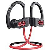 [Upgraded] Mpow Flame S Bluetooth Kopfhörer, Sport-Kopfhörer mit aptX-HD Audio, Bluetooth 5.0/12 Stunden Spielzeit/CVC 8.0 Technologie, IPX7 Wasserdicht SportKopfhörer für Laufen/Joggen