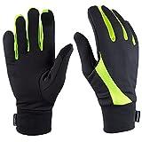 TrailHeads Laufhandschuhe Leichte Handschuhe mit Touchscreen-Funktion   Die Elemente - schwarz/reflektierend (klein)