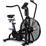 GSTARKL Fitnessgerät, Sportfahrrad, drehbar, dynamisches Fahrrad/Windwiderstand, Air Bike/Multifunktions-Ventilatorauto, Fitnessgerät, Windrad, Spinning Assault Air Bike