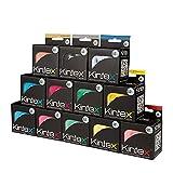 Kintex 12 Rollen Kinesiologie Tape Classic 5cm x5m, Physio-Tape, Therapie-Tape