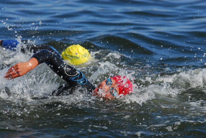 Schwimmen Trihatlon
